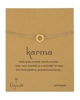 Hammered Karma Bracelet