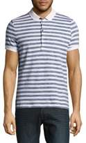 Strellson Peter Striped Cotton Polo