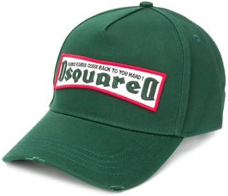 DSQUARED2 logo patch Karma cap