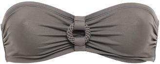Eres Studio Frame Ring-embellished Bandeau Bikini Top