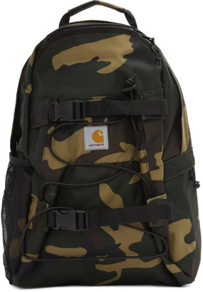 Carhartt Work In Progress Khaki Camo Kickflip Backpack