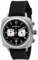 Briston Clubmaster Sport Chronograph Watch, Black/White