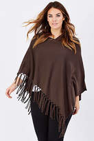 NEW Everyday Cashmere Womens Ponchos Poncho With Knotted Tassels