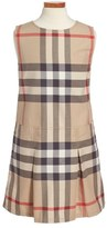 Burberry 'Dawny' Check Print Sleeveless Dress (Little Girls & Big Girls)