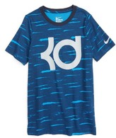 Nike Boy's Kd Logo Dri-Fit T-Shirt