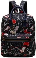 Radley Speckly Dog Large Zip Top Back Pack