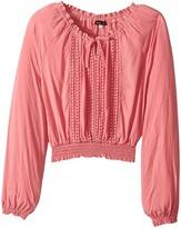 Ella Moss Alba Boat Neck Top Girl's Clothing