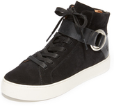 Frye Lena Harness High Top Sneakers