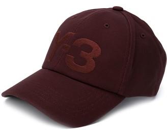 Y-3 Embroidered Logo Cotton Cap