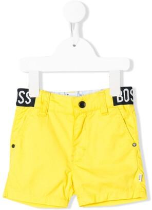 Boss Kidswear Waistband Logo Shorts