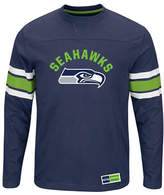 Majestic NFL Seattle Seahawks Power Hit Long Sleeve T-Shirt