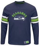 Majestic NFL Seattle Seahawks Power Hit Long Sleeve T-Shirt