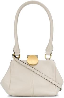 Marni Leather Top-Handle Bag