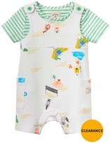 Joules Boys Duncan Jersey Dungaree Outfit