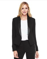 Juicy Couture Drapey Double Crepe Tuxedo Jacket