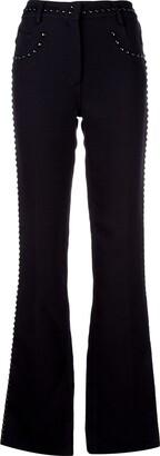 Giambattista Valli Studded Bootcut Jeans