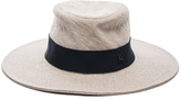 Maison Michel Charles Classic Trilby Straw Hat