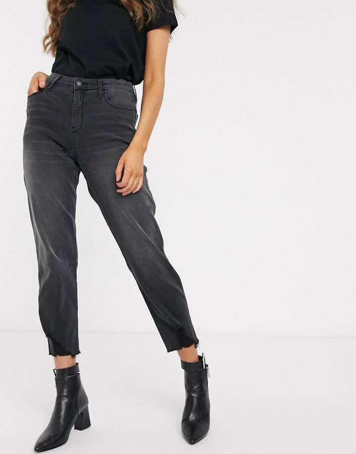Hollister Washed Mom Jeans