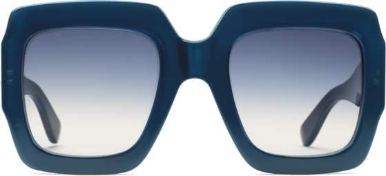 b4a55f0b831c1 Gucci Blue Women s Sunglasses - ShopStyle