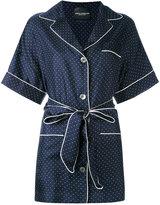 Erika Cavallini - polka dot shirt - women - Silk - 40