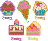 Stephen Joseph Cupcake Lacing Cards (Set of 5)