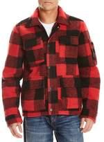 Bench Buffalo Plaid Snap-Front Jacket