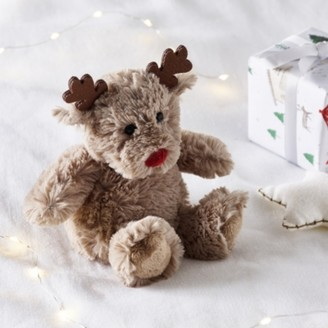 The White Company Jingles Reindeer Small Toy, Natural, One Size