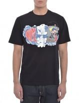 Evisu Fisherman Print T Shirt