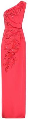 Emilio Pucci One-shoulder Embellished Silk-crepe Gown