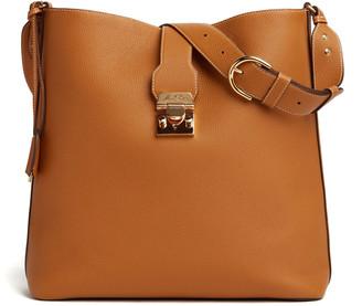 Mark Cross Murphy Leather Hobo Bag