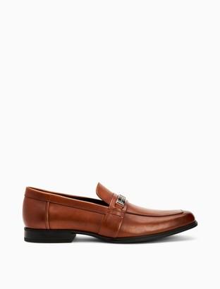 Calvin Klein Drystan Crust Leather Loafer