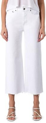 Modern American Savannah High Waist Crop Wide Leg Jeans