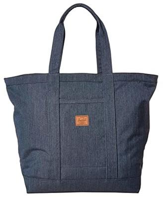 Herschel Bamfield Mid-Volume (Black 3) Tote Handbags