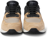 Givenchy - Panelled Suede, Felt And Mesh Sneakers