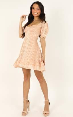 Showpo True as it can be dress in peach- 4 (XXS) Dresses