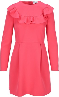 RED Valentino Ruffle-Detailed Dress