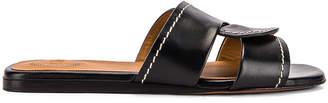 Chloé Candice Slides in Black | FWRD