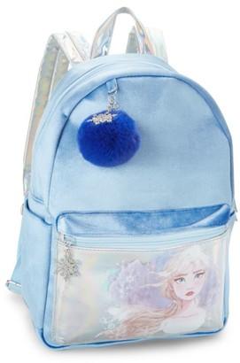 CHARM IT! Disney's Frozen 2 Elsa Velvet Backpack