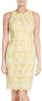 Maggy London Lace Sheath Dress (Regular & Petite)