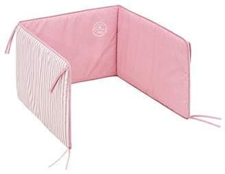 Camilla And Marc Cambrass Cot Bumper, Denim Pink, 67 x 40 cm
