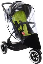 Phil & Teds Dot Storm Cover - Clear/Black