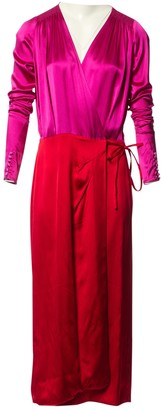 ATTICO Red Synthetic Dresses