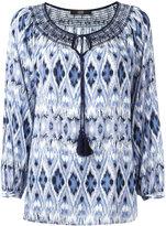 Steffen Schraut patterned blouse