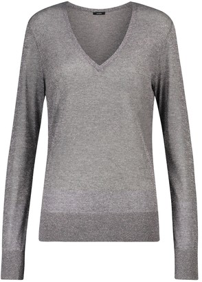 Joseph Metallic sweater