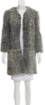 Cushnie et Ochs Knee-Length Shearling Coat