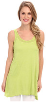 Allen Allen Angled Two-Pocket Tunic Tank