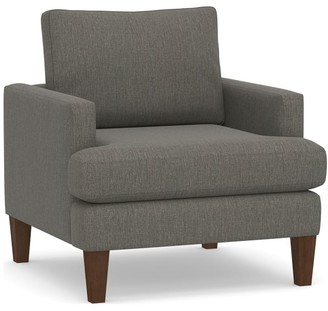 Pottery Barn Santos Square Arm Upholstered Armchair
