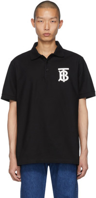Burberry Black Winford Polo