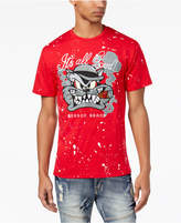 Reason Men's Graphic-Print Paint Splatter T-Shirt