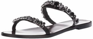 Badgley Mischka Women's Loveday Flat Sandal